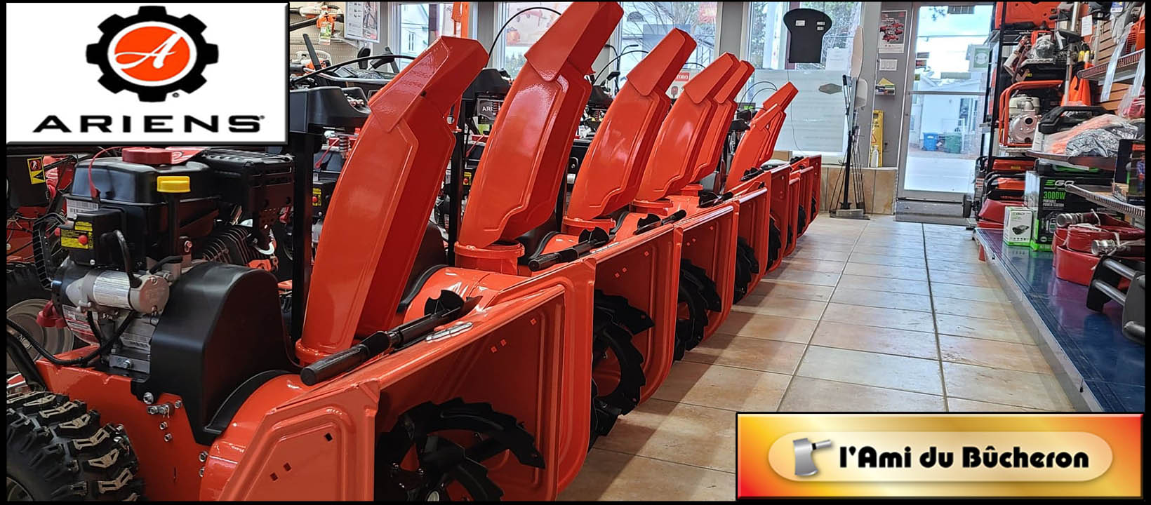 ARIENS SNOWBLOWER DEALER
